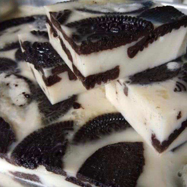 Nak Lagi Resepi Follow Resepimudahmy Tu Diaaa Puding Oreo Tq Yg Resipi Semalam Manis2 Buah Je Rasa Resepi Puding Oreo Travel Phy Food Desserts Brownie