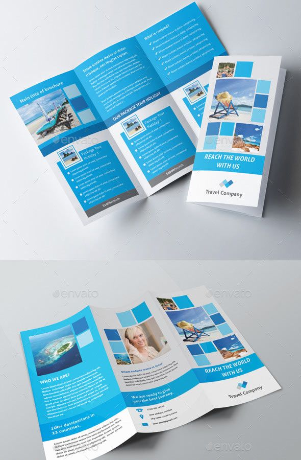 30 Tourist And Travel Brochure Template Design Download Httpwww