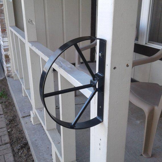 Best Wrought Iron 1 2 Step Small Handrail Safety Rail Grab Rail 640 x 480