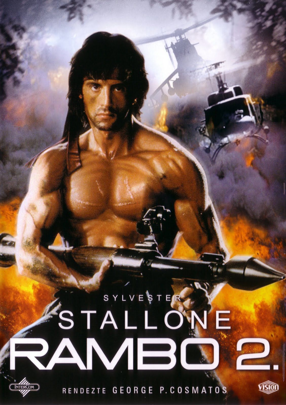 Action Rambo Ii Classic Movie Posters Movie Posters Cinema