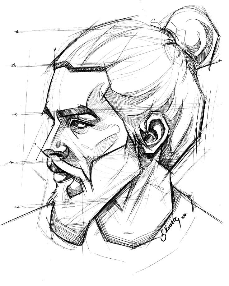 My Mobile Drawing Samsung Galaxy Note 3 ......... .. , Daily sketch (SketchBook) per My Mobile Dra