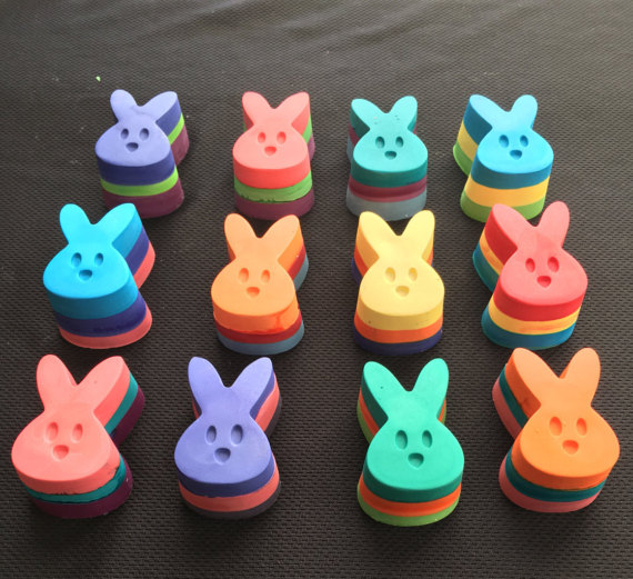 Peep Crayons make a great Easter gift! These Easter crayons have ...