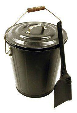 Landmann 1508 Hearthmates Black Ash Bucket And Shovel Kit By Landmann Http Www Amazon Com Dp B0000ujh Fireplace Accessories Galvanized Buckets Recycle Trash