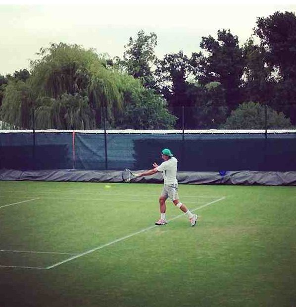 Hello again, Rafael Nadal!