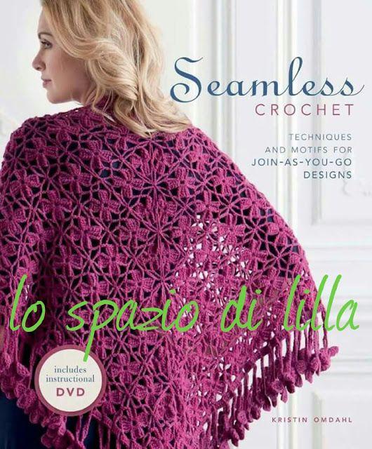 lo spazio di lilla: Scialle crochet e scialle a filet con schemi / Crochet shawl and crochet filet shawl with charts and pattern