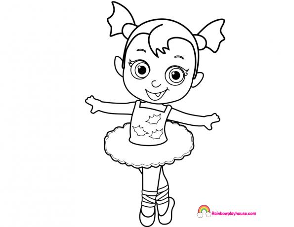 Ballerina Coloring Page - Eskayalitim