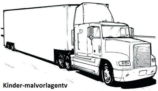 truck ausmalbilder  kinder für malvorlagen