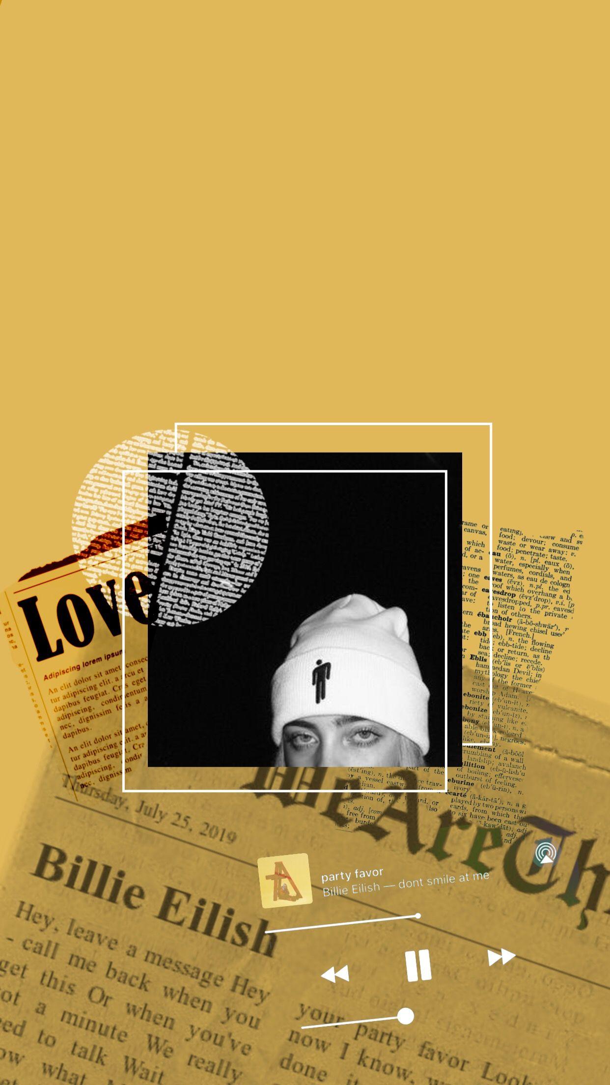 Billie Eilish Wallpaper Aesthetic Billie Billie Eilish Black Aesthetic