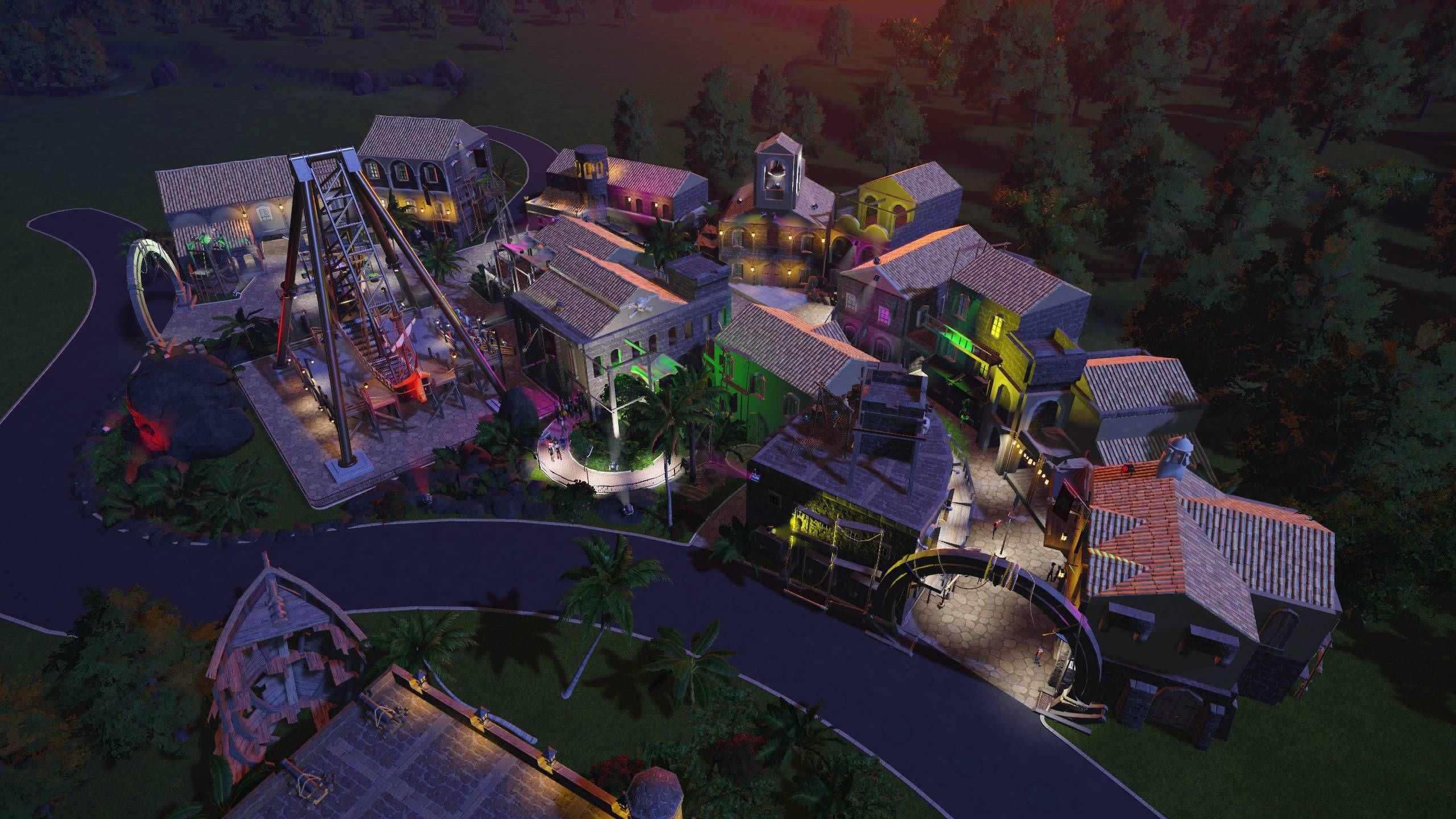 Piragon Alley - Pirate Theme Street   Planet Coaster