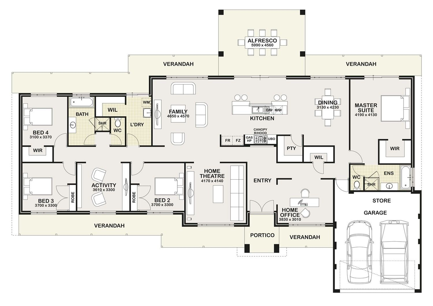 New Home Designs in Perth House plans australia
