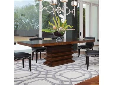 Shop For Global Views Zig Zag Dining Table 2498 And Other Dining