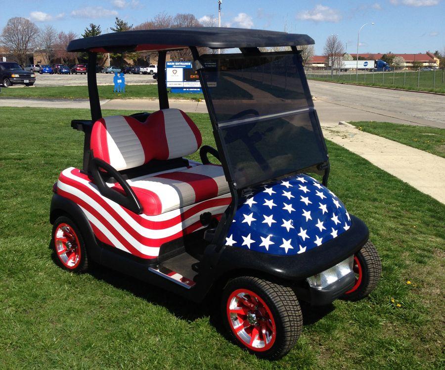 Patriotic Precedent Club Car Pimp My Ride Pinterest Golf