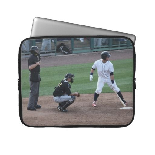 Batter Up Laptop Computer Sleeve Cool Zazzle Creations Sports