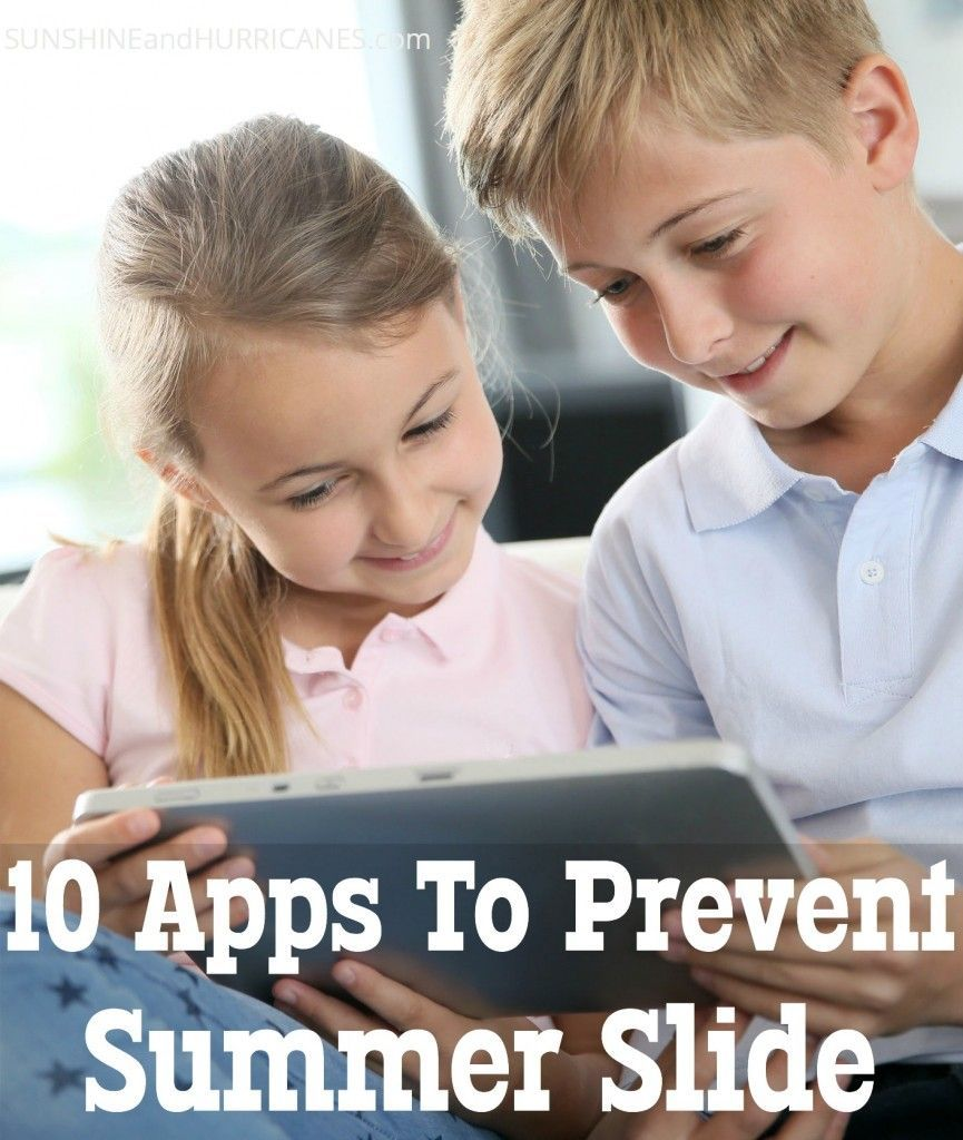 Want to keep your kids on track over the Summer and help them retain all that learning from the school year? These apps for iOS & Android will travel along with you this Summer and keep the children learning & entertained. Great for road trips, air travel, or at home. 10 Apps To Prevent Summer Slide