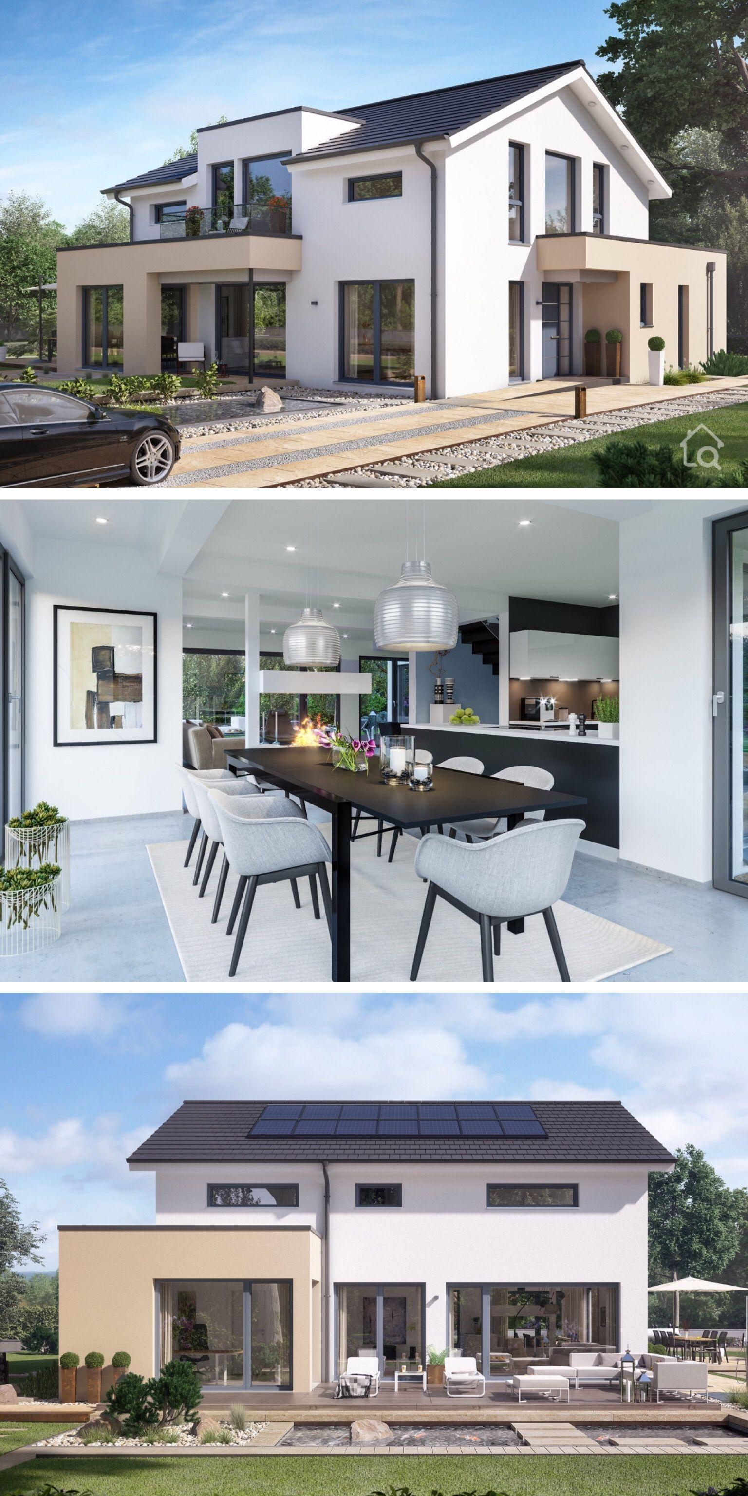 Einfamilienhaus Neubau Mit Satteldach Modernes Haus Design Innen Moderne Hauser Mit Satteldach Einfamilienhaus Bauen Haus Design