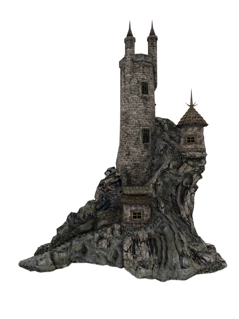 Castle Tower Png By Lg On