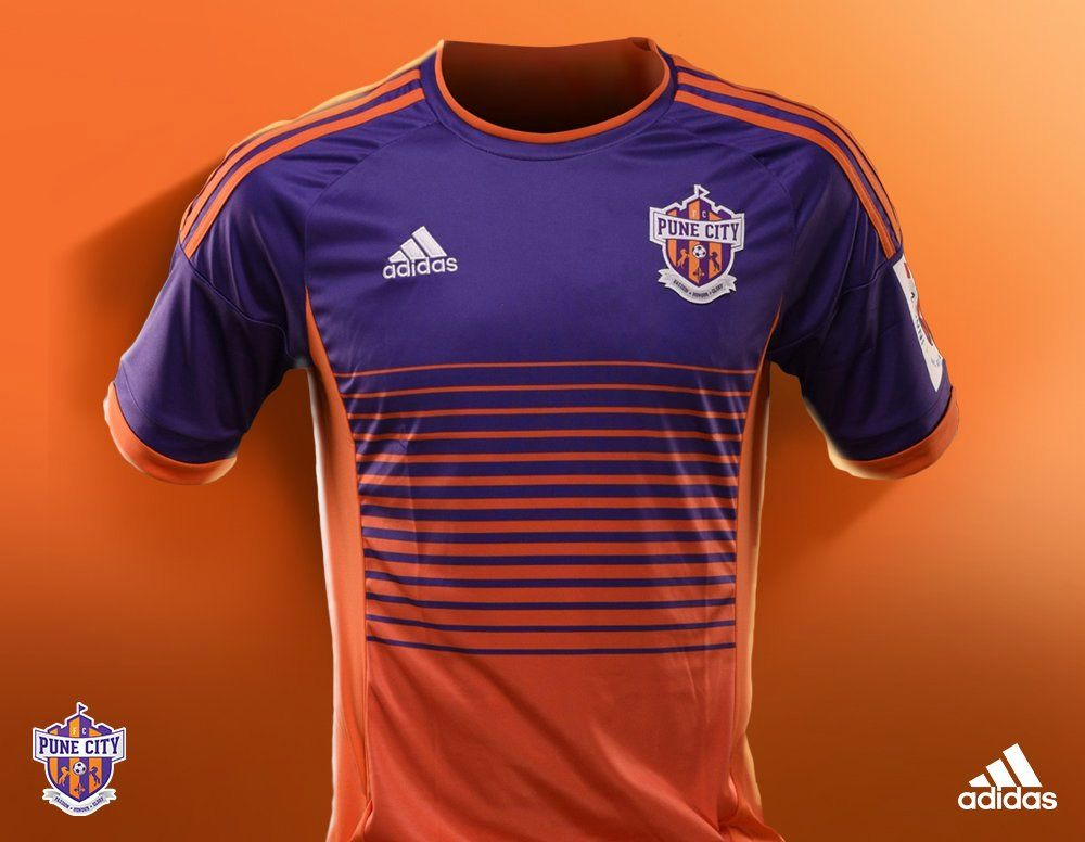 f4e3f8d0e5 Camisas do FC Pune City 2016-2017 Adidas kit