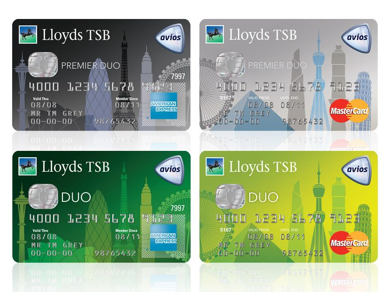 The Lloyds TSB Duo Avios credit cards. Avios is the new name for ...