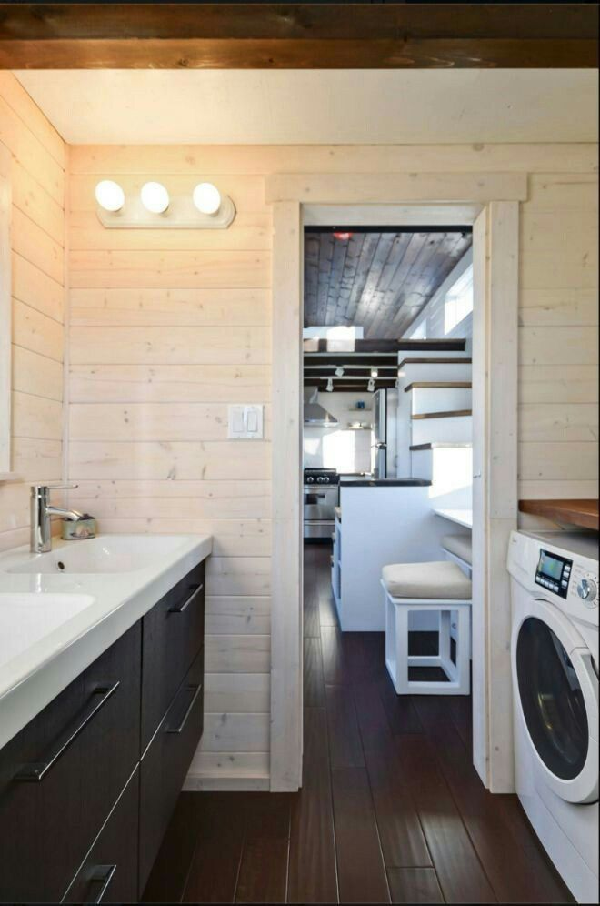 tiny house sink. Tiny House Is Charming, But Its Oversized Kitchen Will Win Your Heart Sink