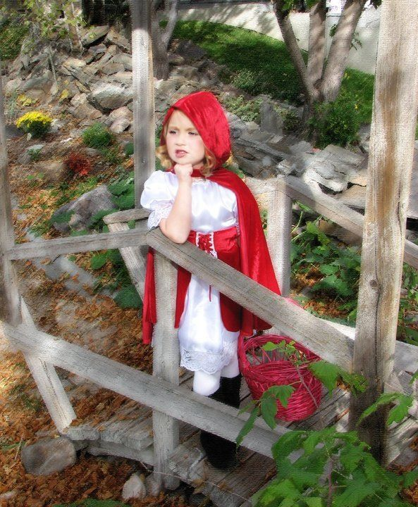 Little Red Riding Hood Sweet non-scary Halloween costume idea What - terrifying halloween costume ideas