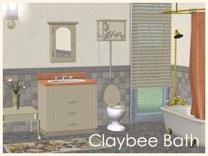 Claybee Bathroom in 2020 | Wooden window blinds, Wooden ...