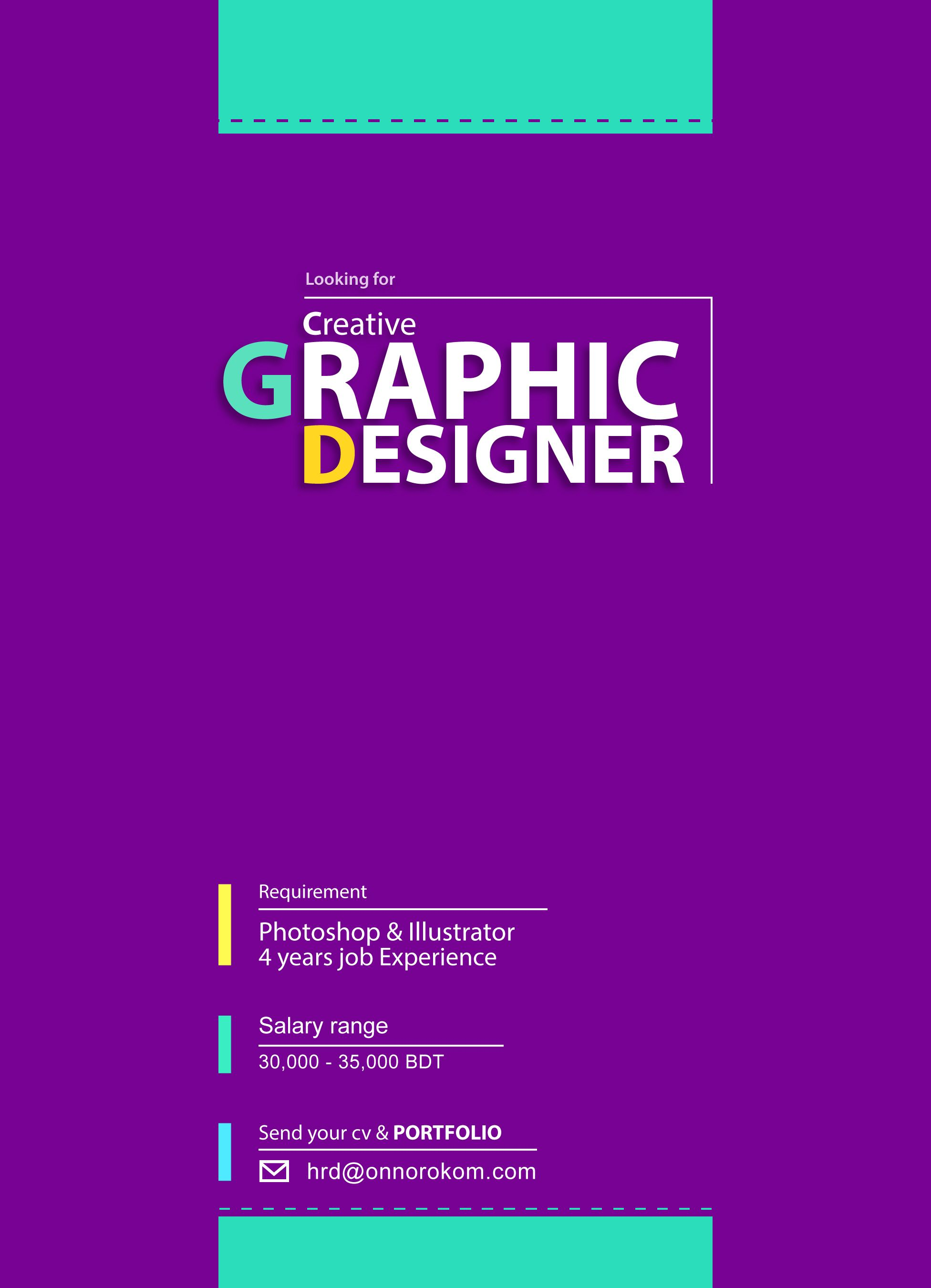 Graphic Designer Wanted  Real Design    Graphic Designers