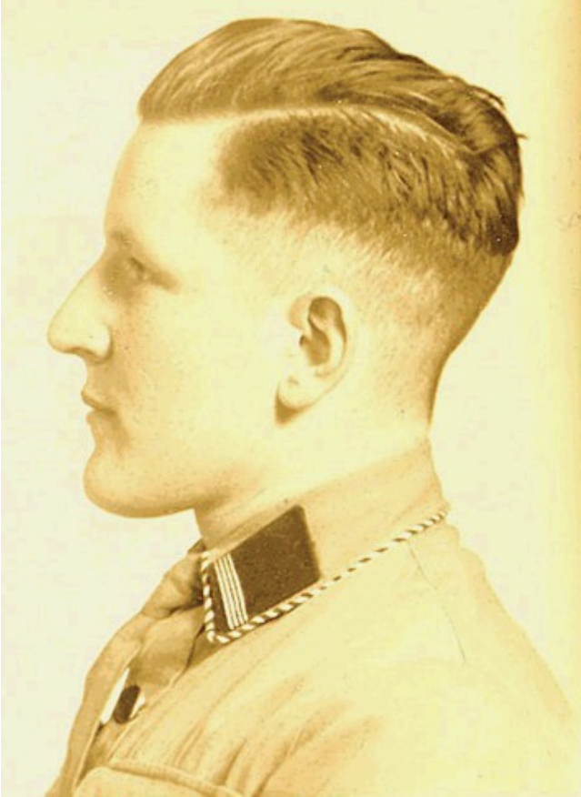 Wehrmacht Cut 1 Barbers German Hairstyle Soldier Haircut Hair