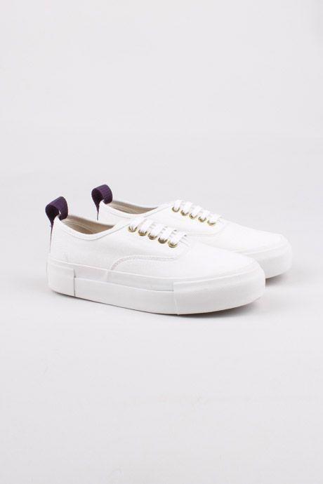 Eytys | Mother White Canvas Sneaker | My Chameleon