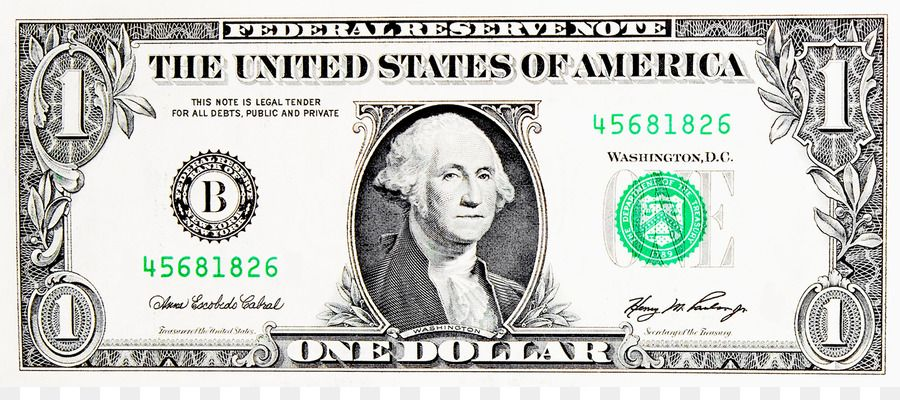 United States One Dollar Bill United States Dollar Banknote United States Five Dollar Bill Dollar