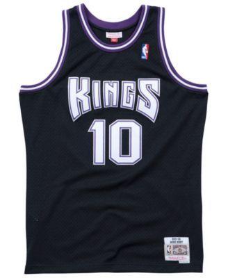 75941c3a0b2 Mitchell   Ness Men s Mike Bibby Sacramento Kings Hardwood Classic Swingman  Jersey - Black XL