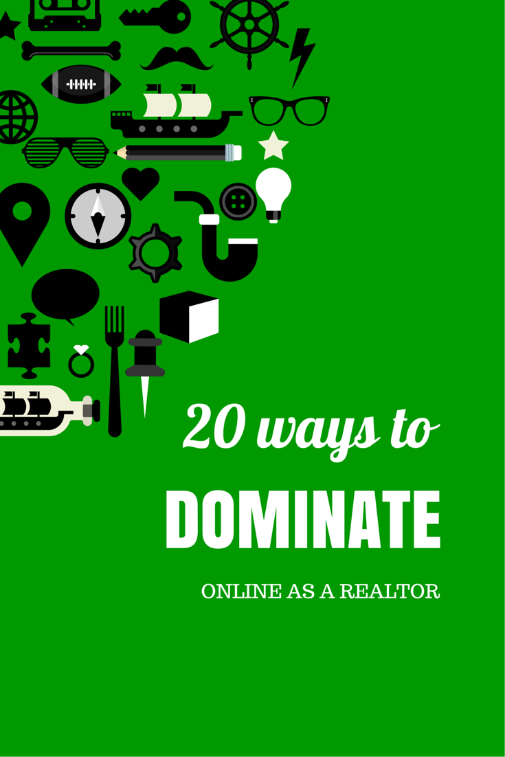 20 ways real estate agents can promote themselves online
