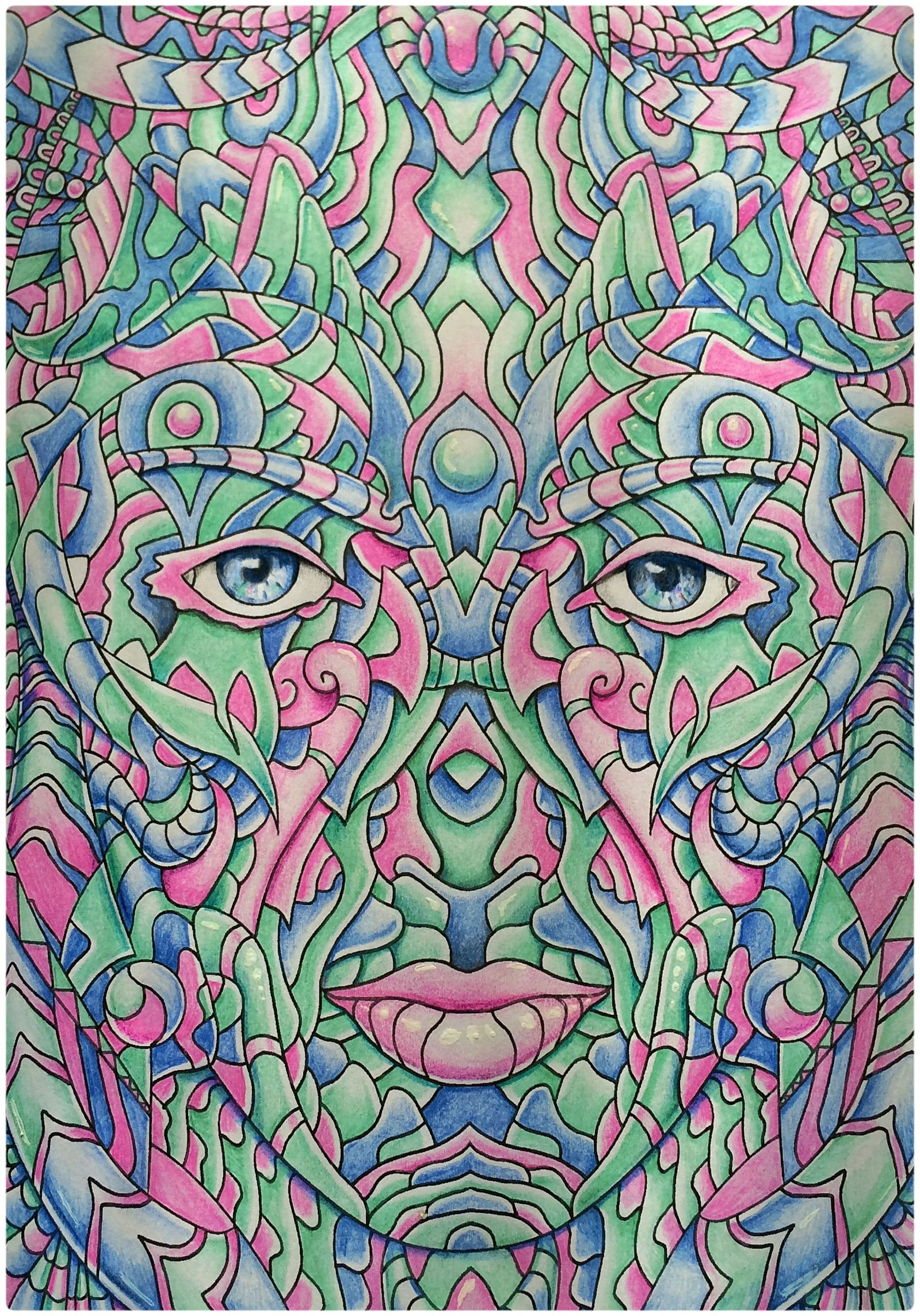 From High Visions Psychedelic Coloring Book 2 available on ...