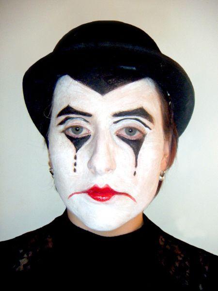 mime make up - Google Search | Mimes | Pinterest | Mime makeup ...