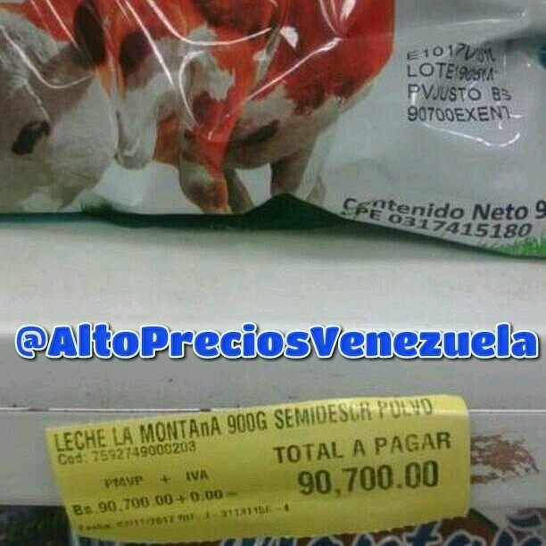 ¡TE DARÁ UN PASMO! El nuevo precio de la leche en polvo de 900 gramos - Noticias Venezuela