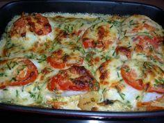 Fisch : mit Gemüse aus dem Ofen - Rezept