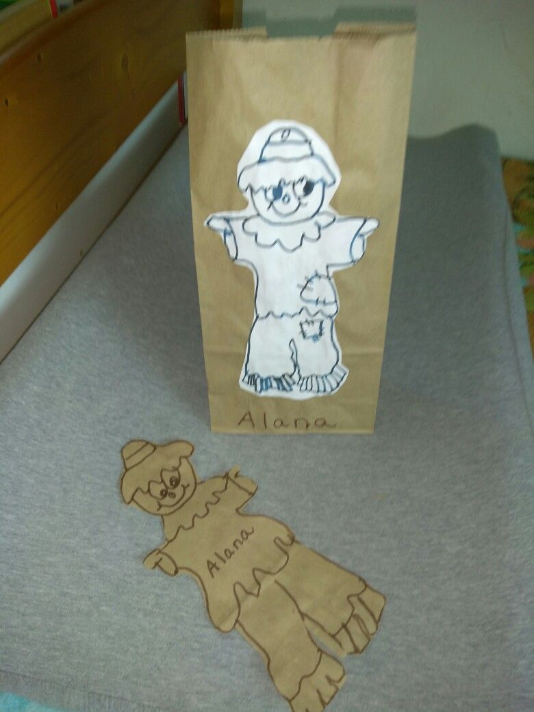 Paint your own scarecrow | Diy bags, Brown paper bag ...