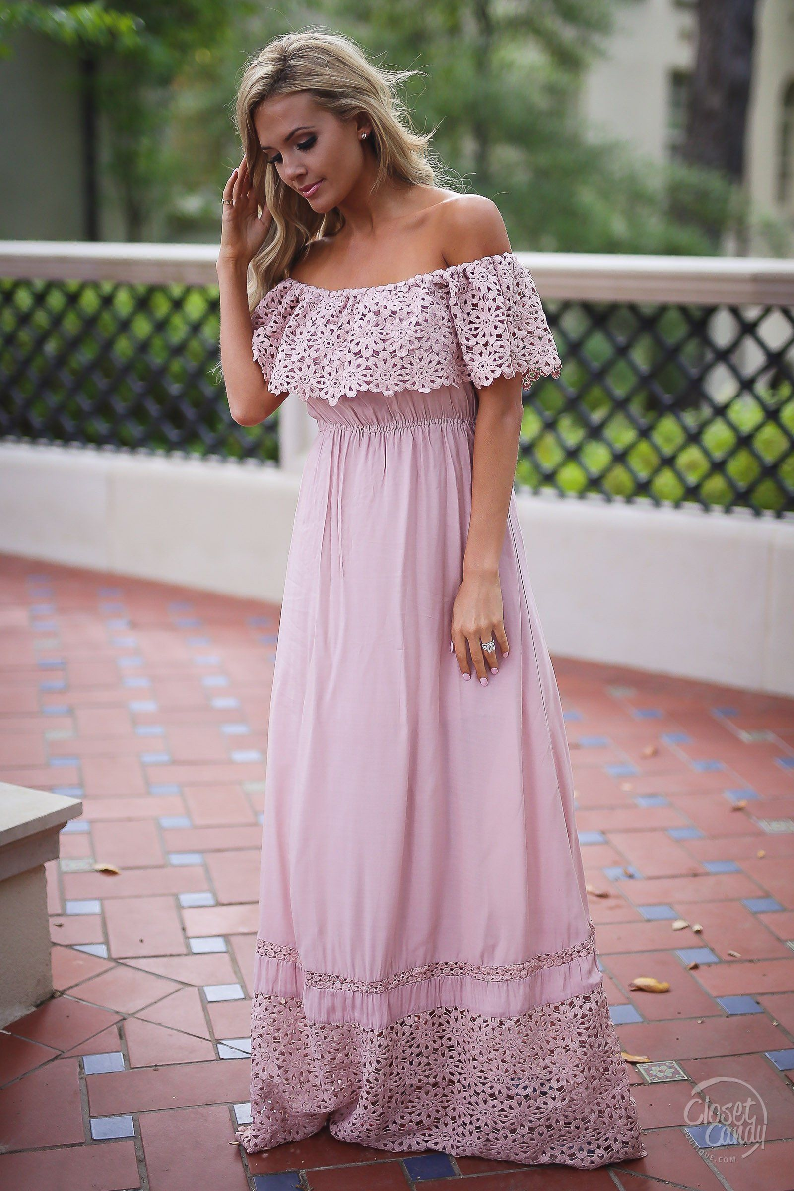Closet Candy Boutique Dreaming in Daisies Maxi Dress trendy and