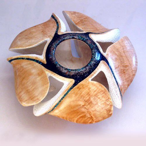 Stephen Hatcher - Fine Art Woodturning and Sculpture. Coral Sea.