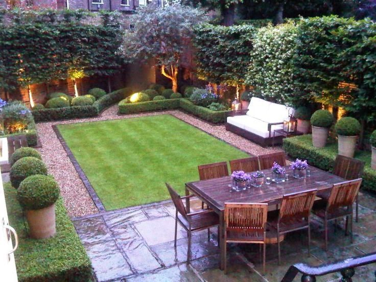 backyard garden ideas like the use of small space landscaping not just grass bench fit in - Backyard Designs Ideas