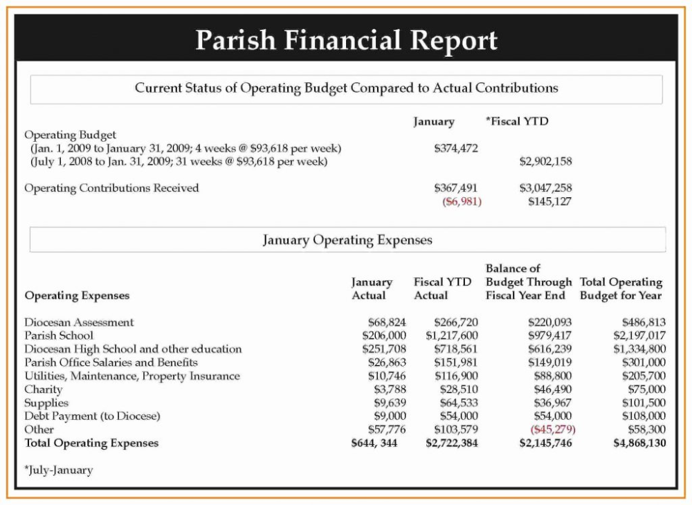 Non Profit Financial Statement Template Excel Then Monthly Financial With Non Profit Monthly Financial R Statement Template Financial Statement Report Template