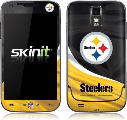 Skinit Pittsburgh Steelers Vinyl Skin for Samsung Galaxy S