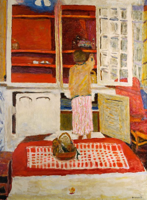 Pierre Bonnard, LArmoire blanche (1931)#Repin By:Pinterest++ for iPad#