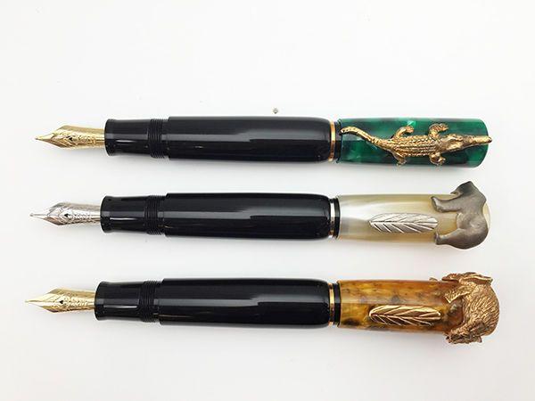 Luxury MB Beethoven Pattern Rollerball Pen Silver metal Exellent Gift
