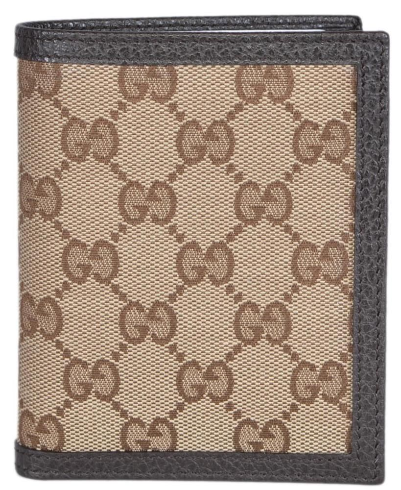0c47318bb67d New Gucci 292533 Men's Beige Canvas GG Guccissima Verticle Bifold Wallet # Gucci #Bifold