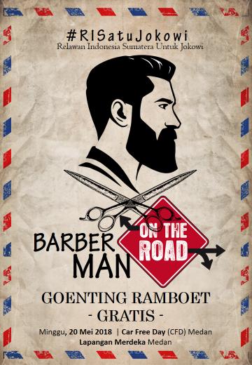 Pin Di Medan Barbershop Potong Rambut Poster