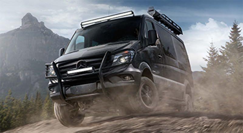 Build and equip your mercedes benz sprinter 4x4 passenger for Mercedes benz sprinter 4x4