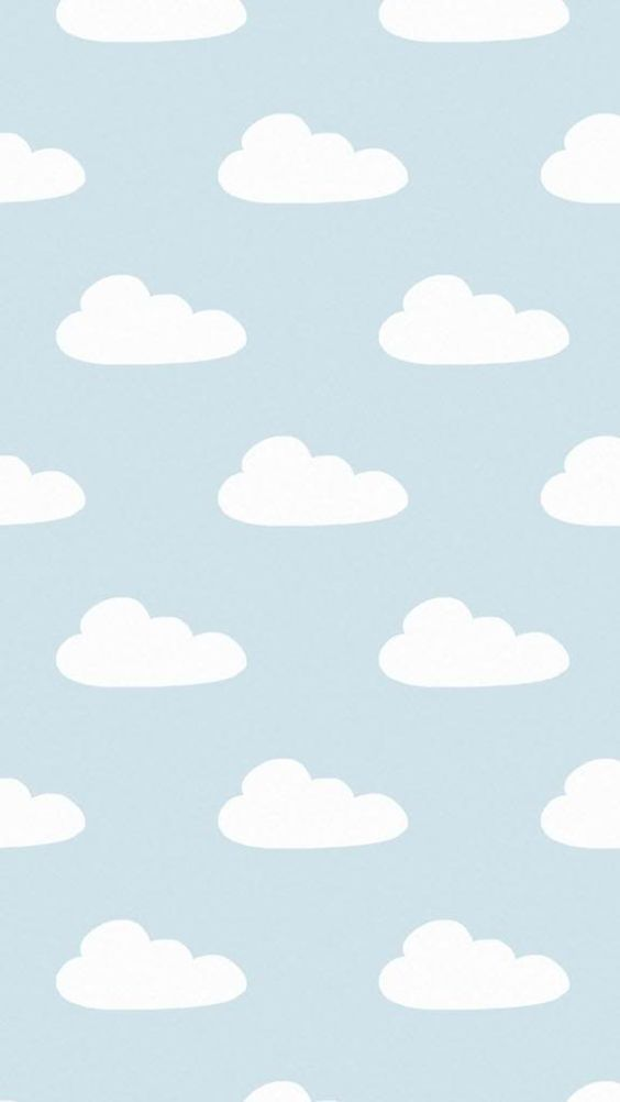 Blue Grey White Clouds Iphone Background Lock Screen Phone Wallpaper Cute Patterns Wallpaper Cloud Wallpaper Iphone Background Wallpaper