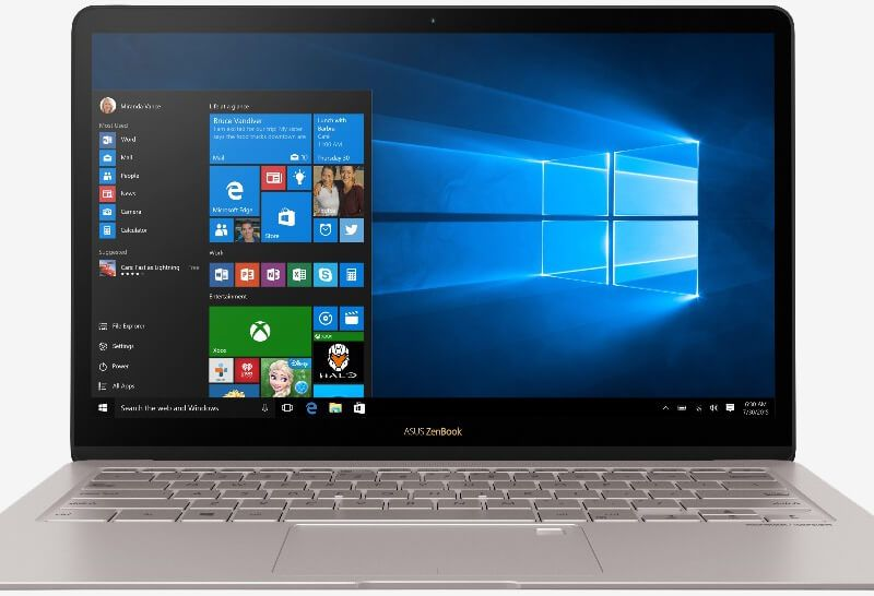 Asus Zenbook 3 Deluxe Packs A 14 Inch Display Into A 13 Inch Chassis Windows 10 Microsoft Windows 10 Touch Screen Laptop
