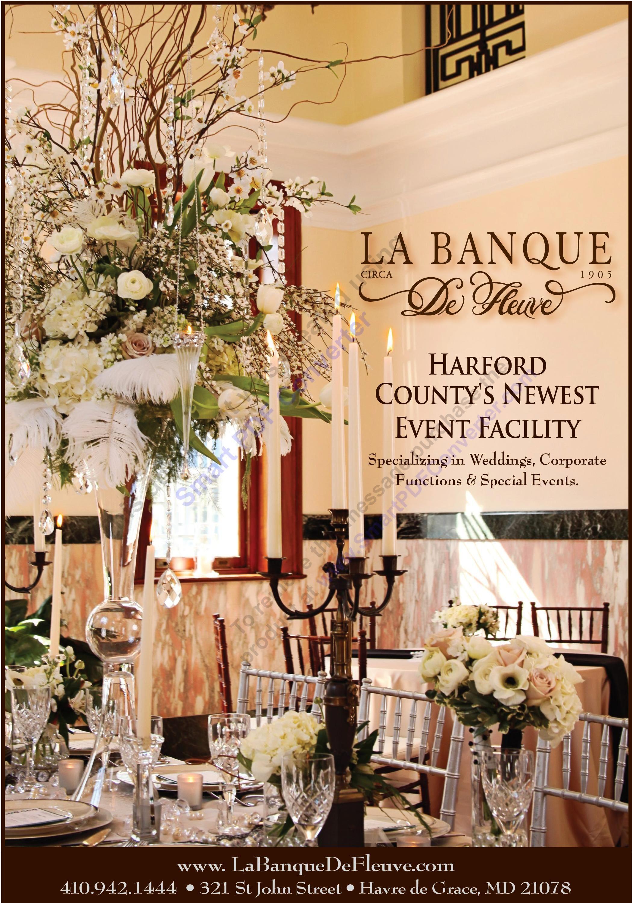 La Banque De Fleuve Havre De Grace Maryland Md Wedding Venues Maryland Wedding Venues Maryland Wedding