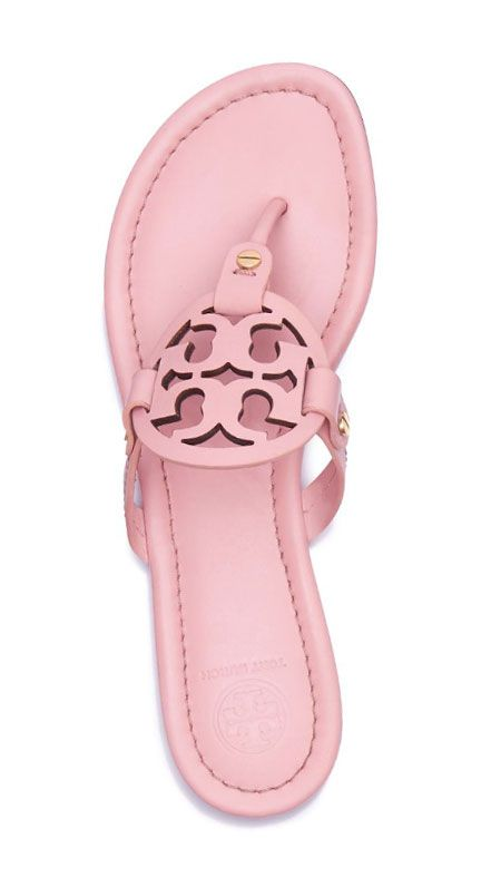 165b186685 Tory Burch Miller Sandal | Pink #ToryBurchInColor | Shoes, Shoe ...